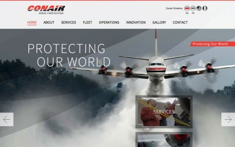 Conair Aerial Firefighting