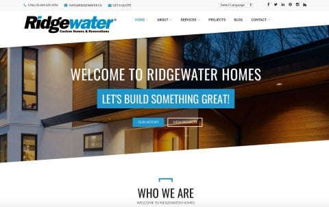 Ridgewater Homes Ltd.